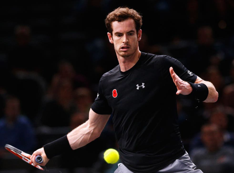 Andy Murray is not experiencing any back problems