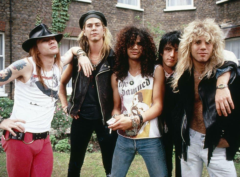 Guns N' Roses back in the glory days