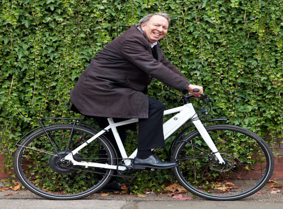 Steve Richards opted for a ready-made electric bike, an ex-display Easy model by the German maker Grace