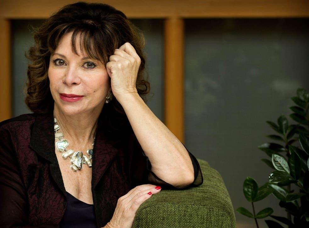 Chilean writer, Isabel Allende
