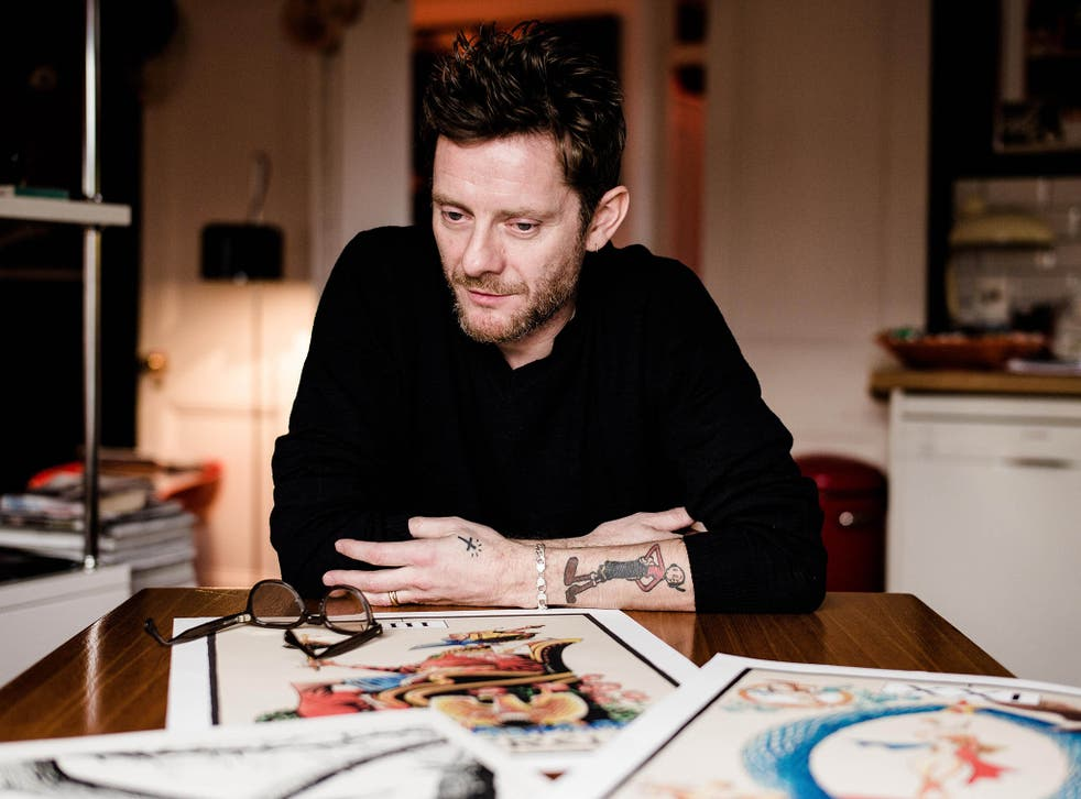 Jamie Hewlett, English comic book artist and designer, best known for being the co-creator of the virtual band Gorillaz
