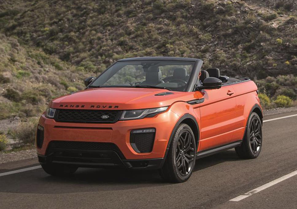2016 Range Rover Evoque Convertible Prices Revealed For Its Ragtop