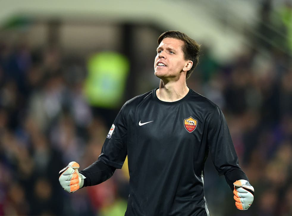 Arsenal goalkeeper Wojciech Szczesny is currently on loan with Roma