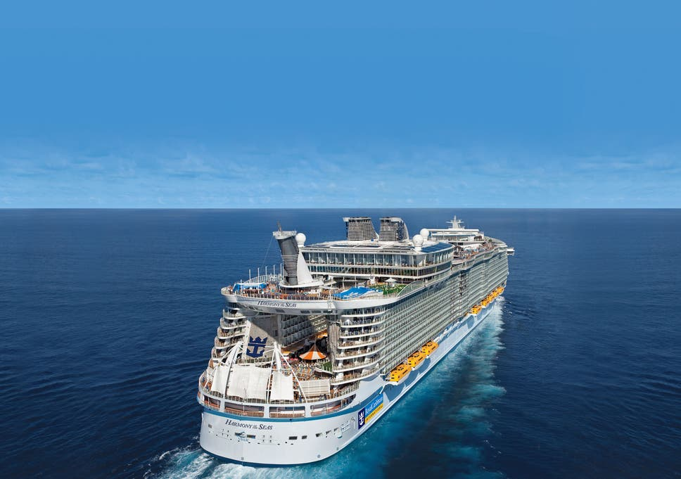 The largest cruise ship in the world will carry 3,415 pieces of