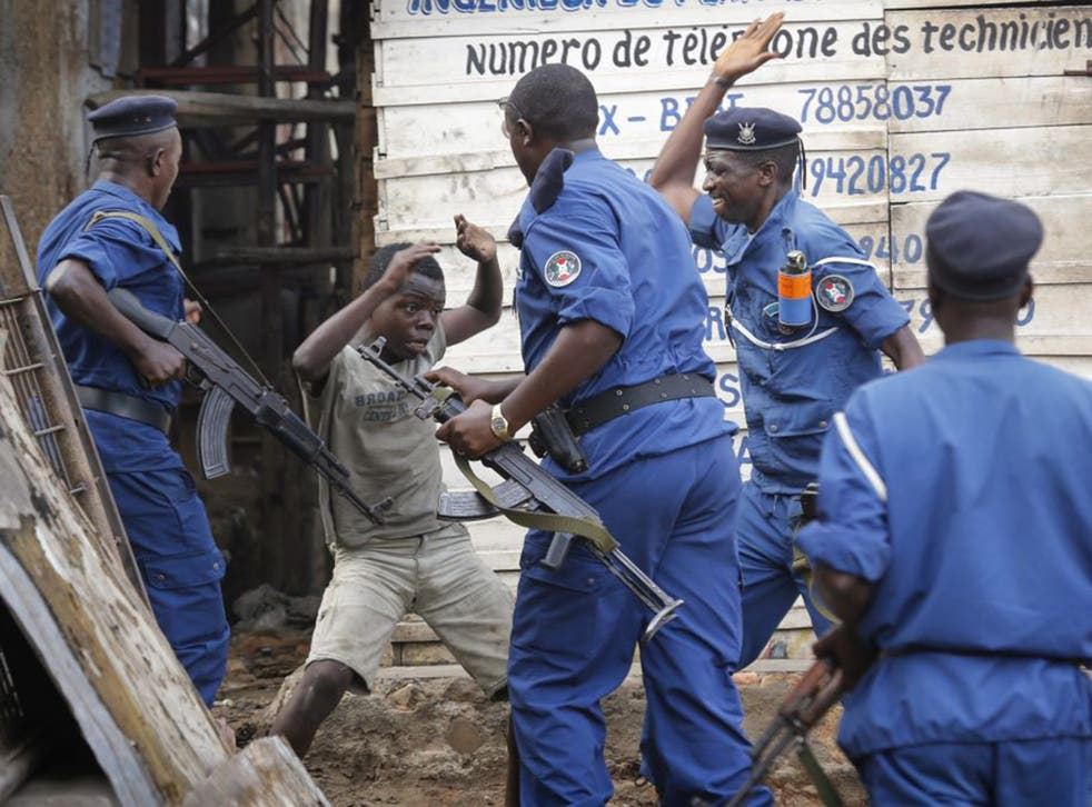 The violence in Burundi has continued to escalate since May's presidential election, during which police officers fired at and beat anti-government protesters in the capital
