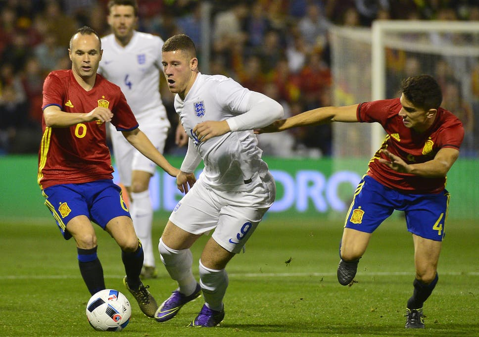 Image result for ross barkley against spain