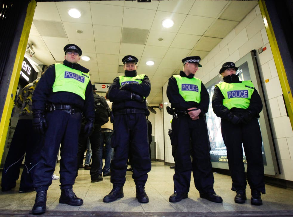 The British public may notice changes to policing around ports, streets and major events in the UK