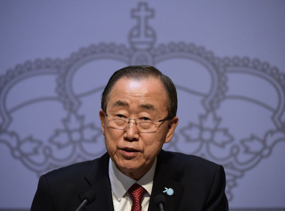 Ban Ki-moon's comments were criticised by the Israeli ambassador to the UN