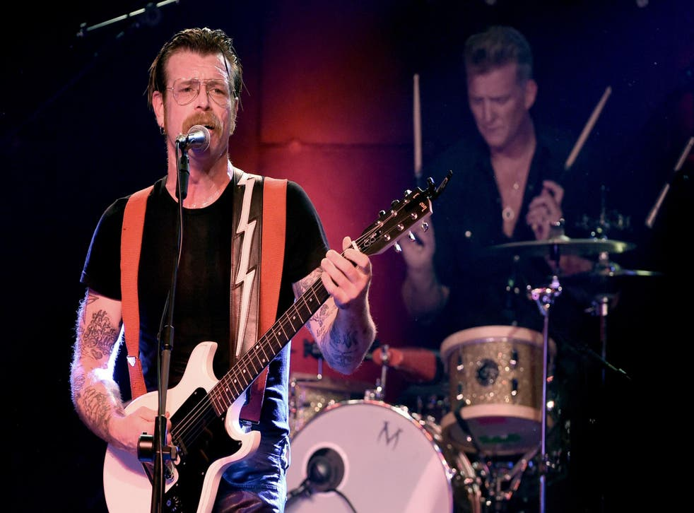 Eagles of Death Metal perform at the Teragram Ballroom on 19 October, 2015