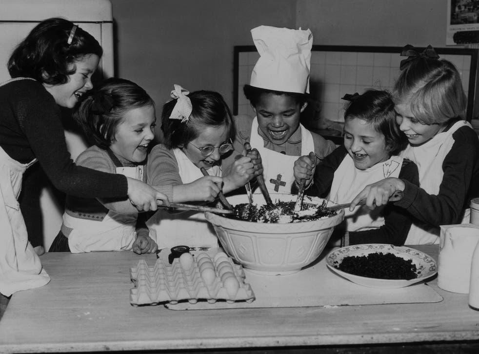 On Stir-Up Sunday, everyone gets to stir the Christmas pudding mixture