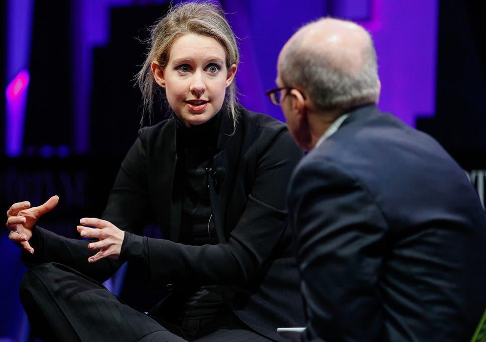 Elizabeth Holmes Start Up Star Touted As Steve Jobs Of