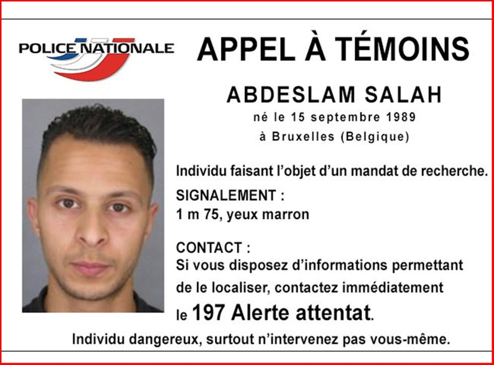 Salah Abdeslam is still on the run from authorities after disappearing the morning following the attacks