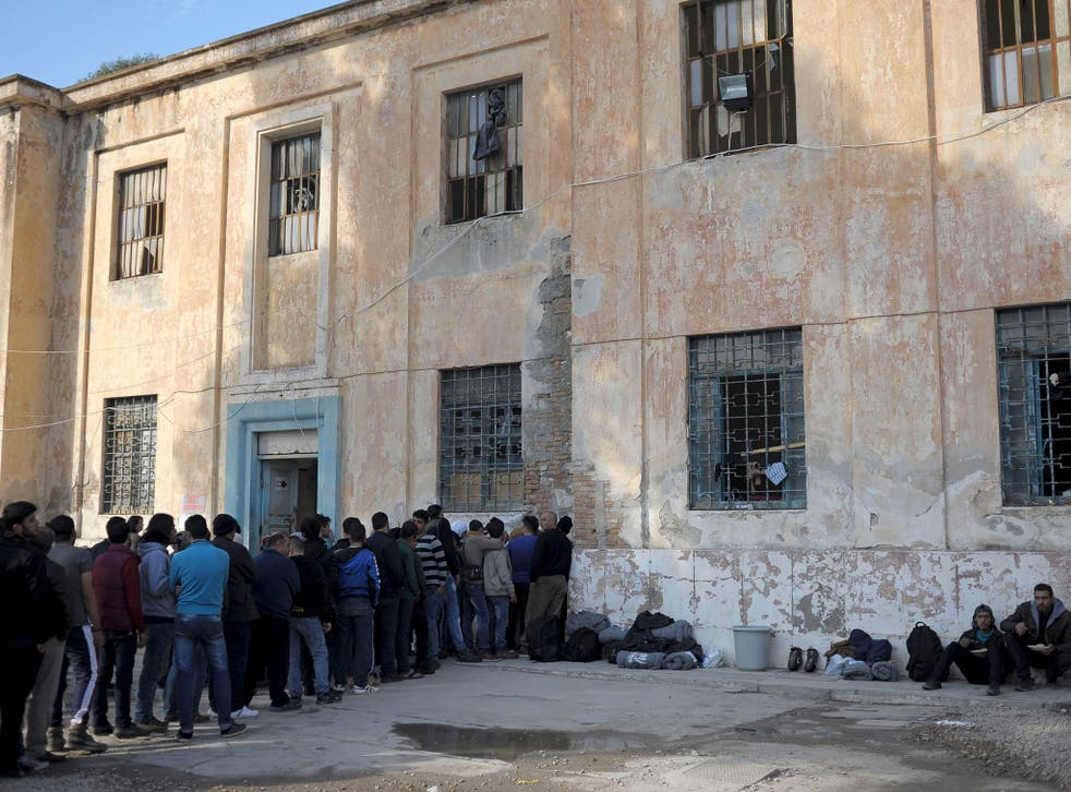 The passport of a refugee who entered the EU via the Greek island of Leros was found by a terrorist's body