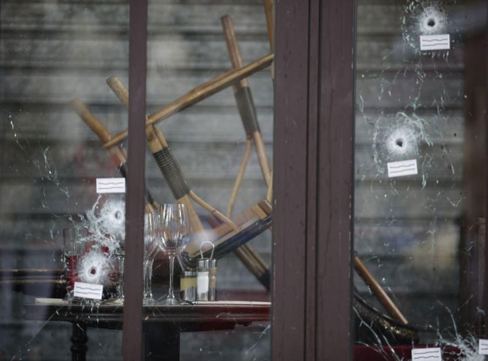 The Comptoir Voltaire cafe in Paris's 11th arrondissement
