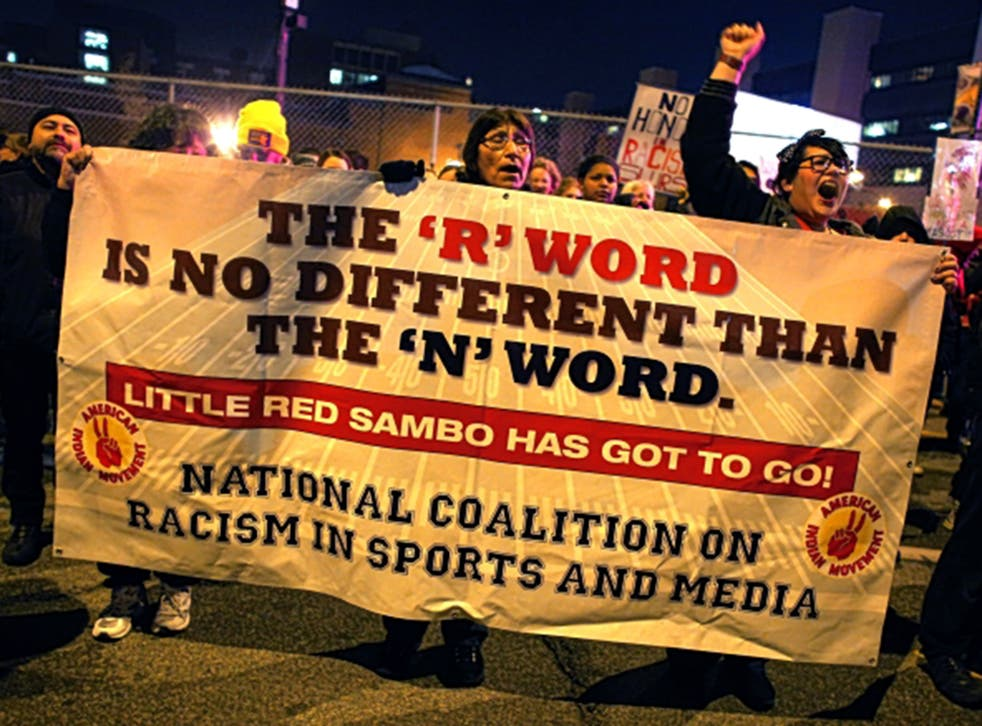 The terms 'oriental' and 'negro' have been removed from federal vocabulary, but the debate over 'redskin' goes on