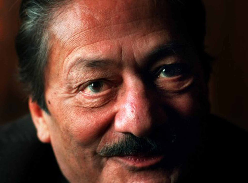 Jaffrey: he was the first Asian actor to be awarded an OBE for services to drama