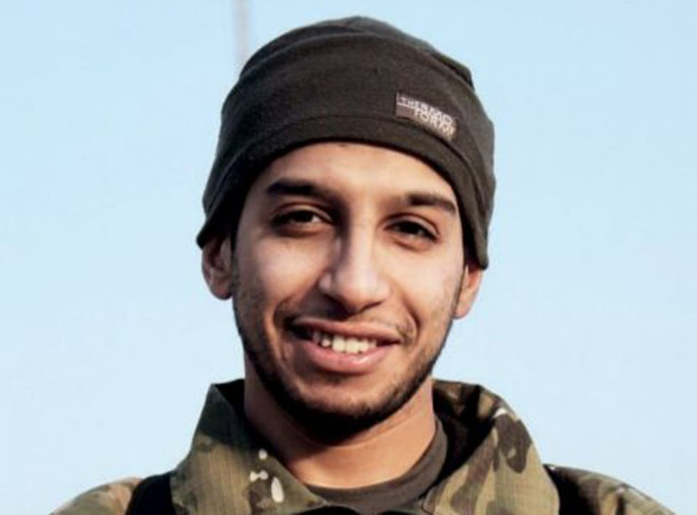 """Abdelhamid Abaaoud had been named by officials as the """"presumed"""" mastermind of the attacks"""