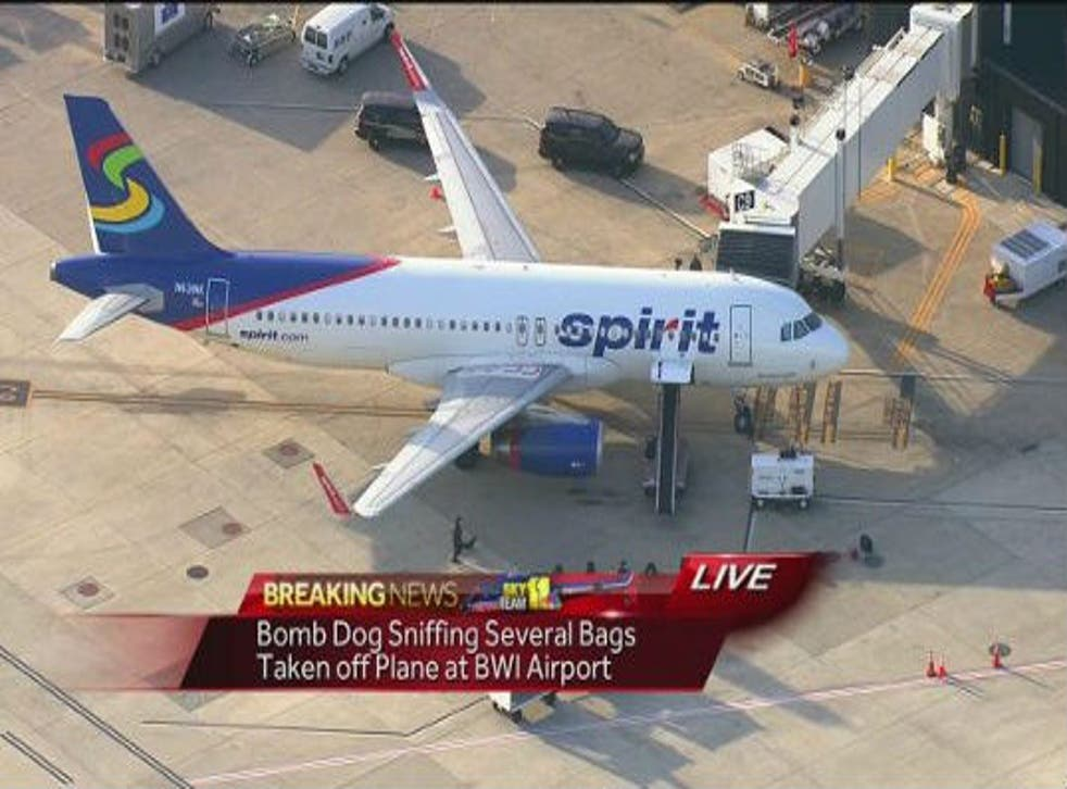 Four people were removed from the flight