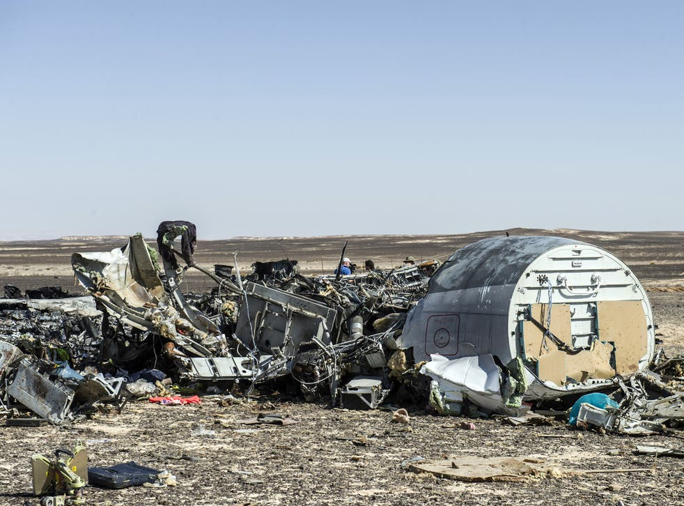 224 people died when their Metrojet charter flight crashed