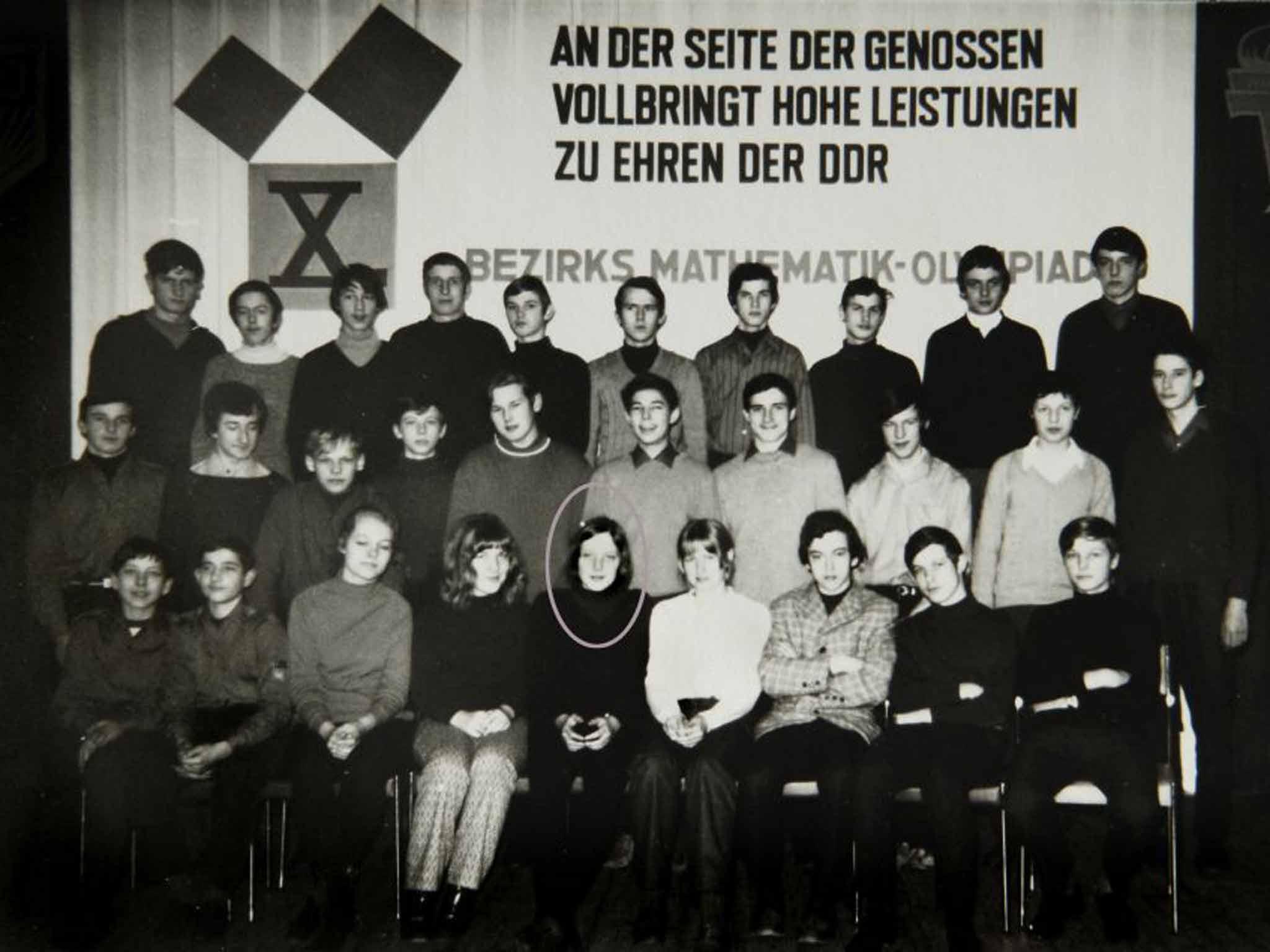 Image result for angela merkel communist officer in youth