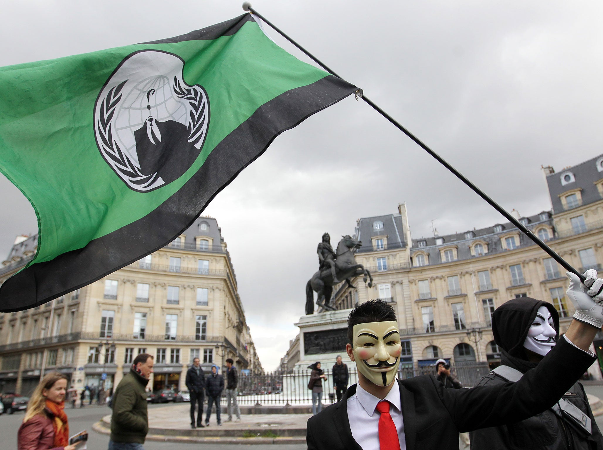 Paris attack: Anonymous launches \'biggest operation ever\' against ...