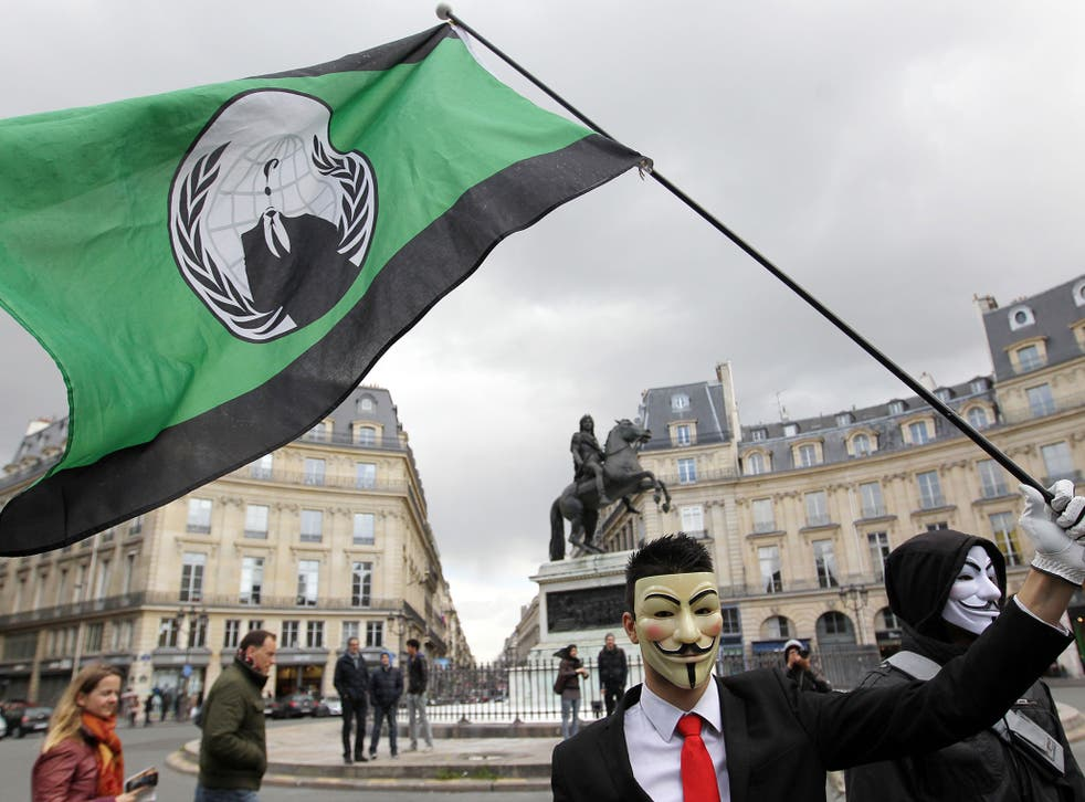 The hackers Anonymous groups 'declared war' on Isis in the 'biggest operation ever' in the wake of the Paris attacks