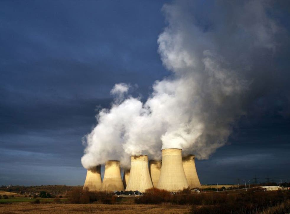 The use of coal-fired power stations dropped dramatically last year