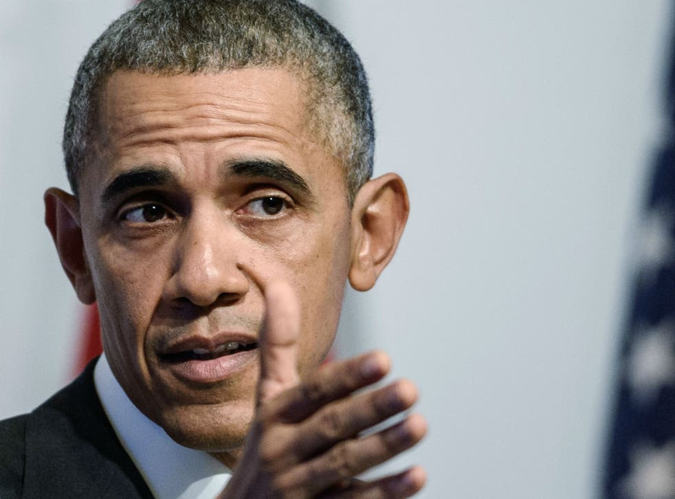 Obama said after terrorist attacks 'we descend into fear and panic'