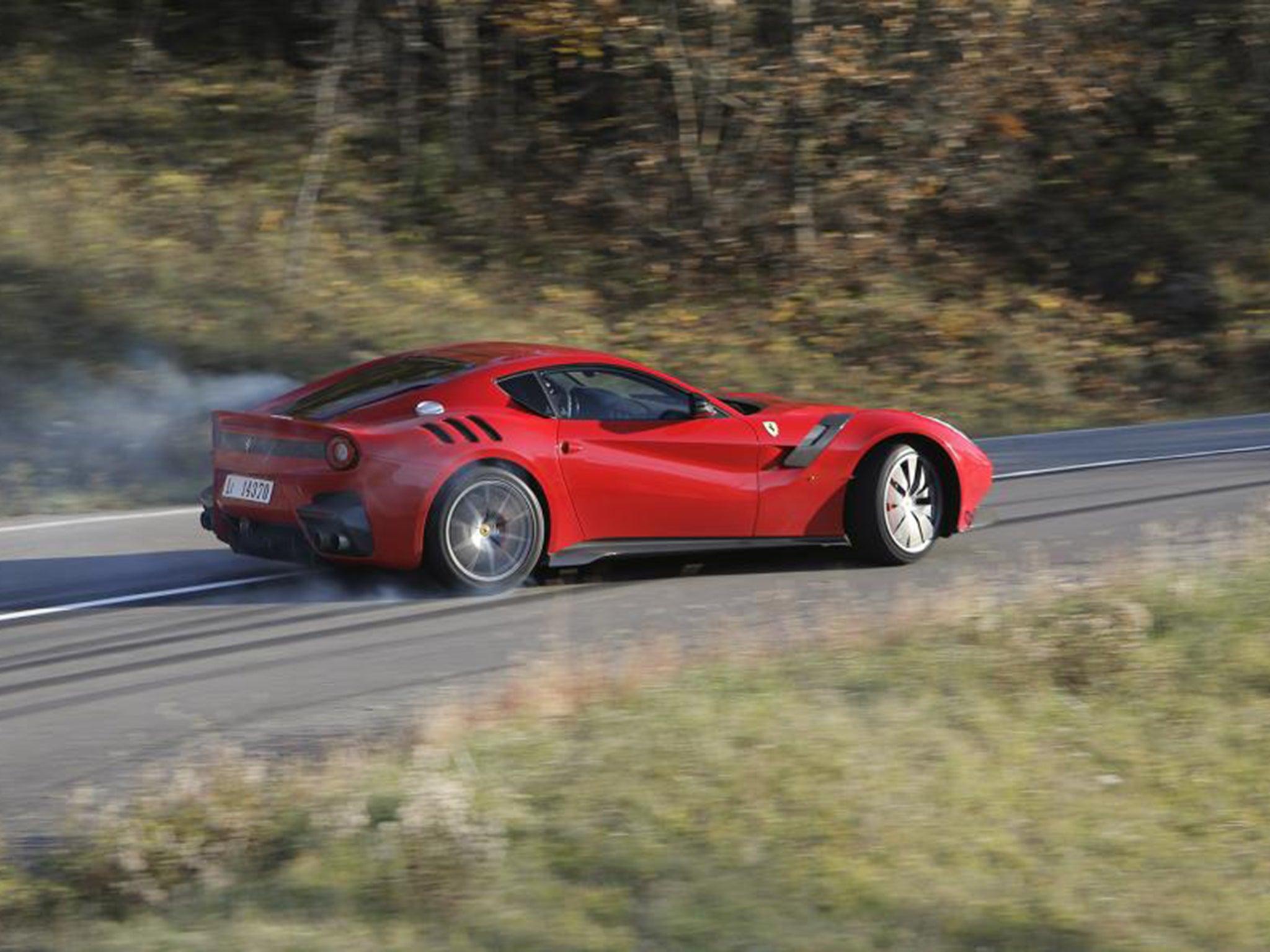 Ferrari F12 TdF, car review: For when an F12's 730bhp just