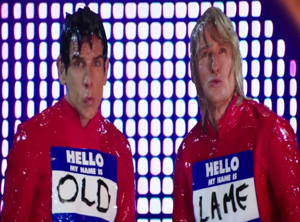 Ben Stiller and Owen Willson in Zoolander 2