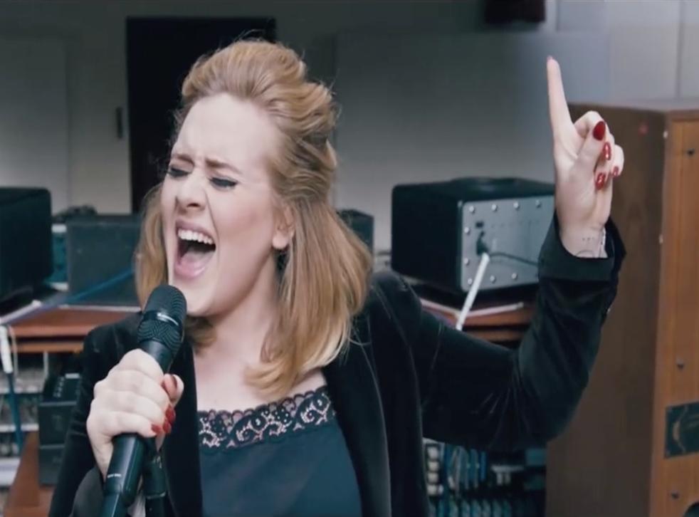 Adele has described third album 25 as a 'make-up record'