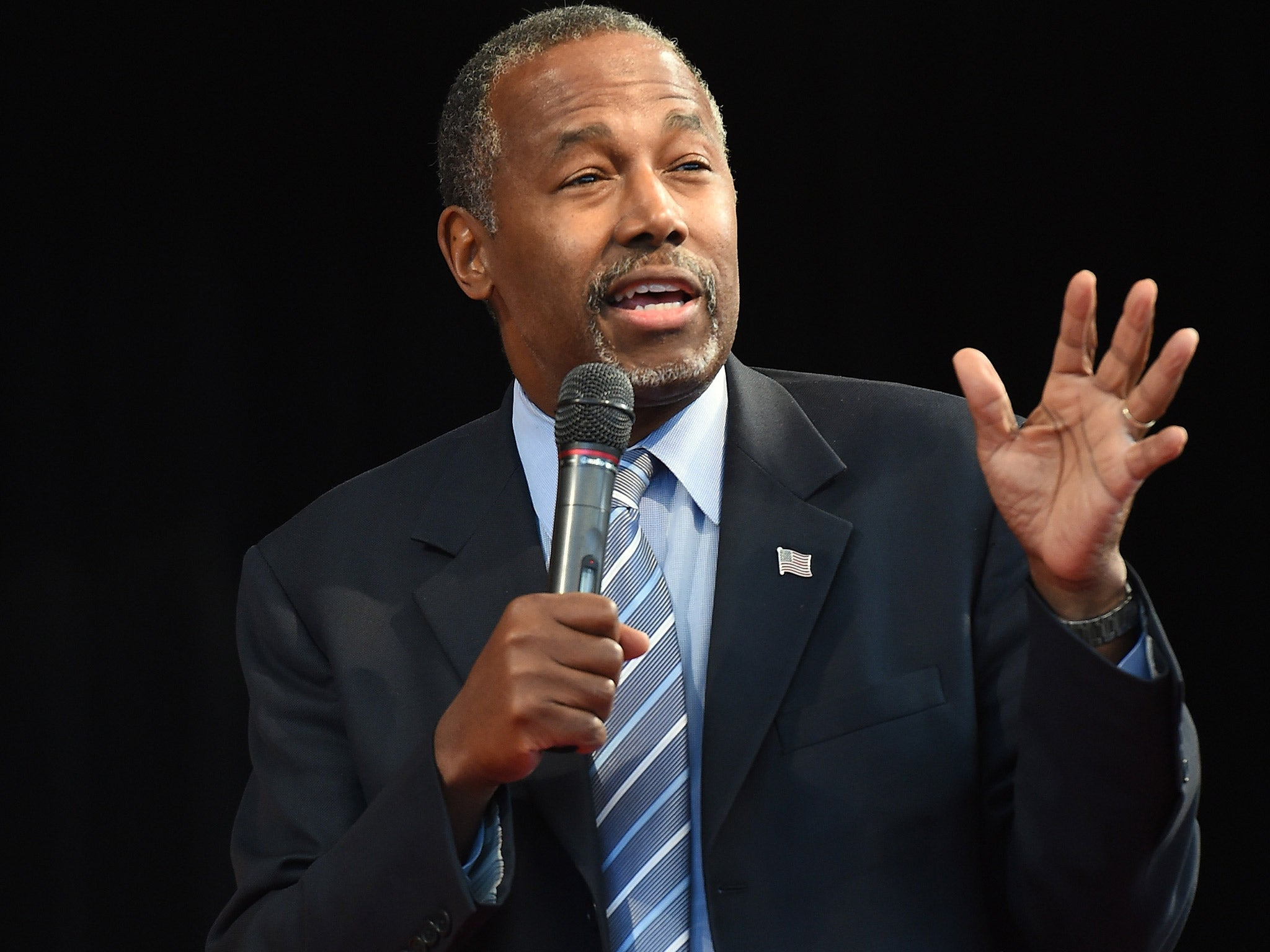 Ben Carson likens Syrian refugees to 'rabid dogs'   The Independentindependent_brand_ident_LOGOUntitled