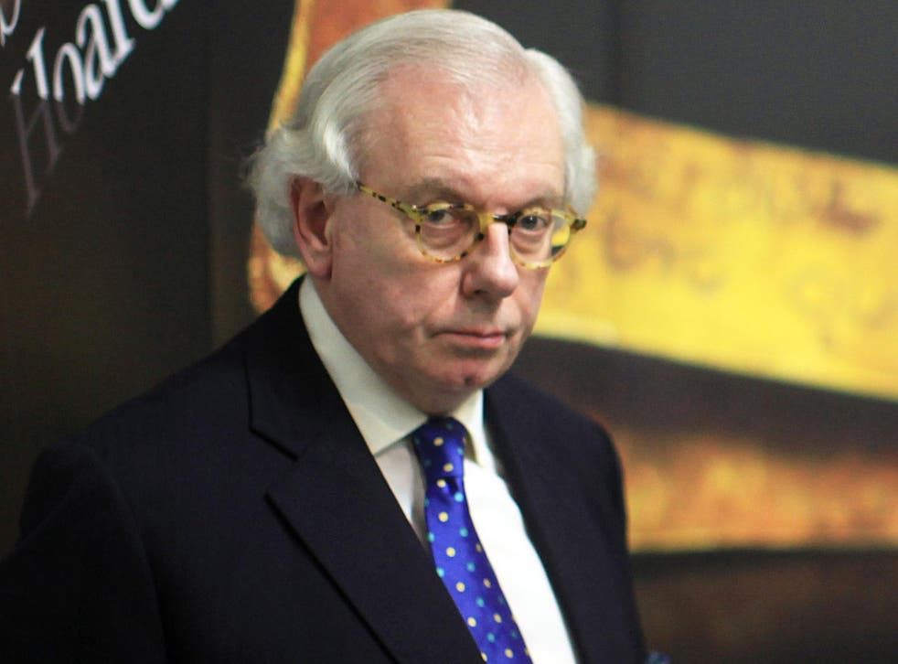 David Starkey is described in the letter as someone holding 'profoundly racist views'