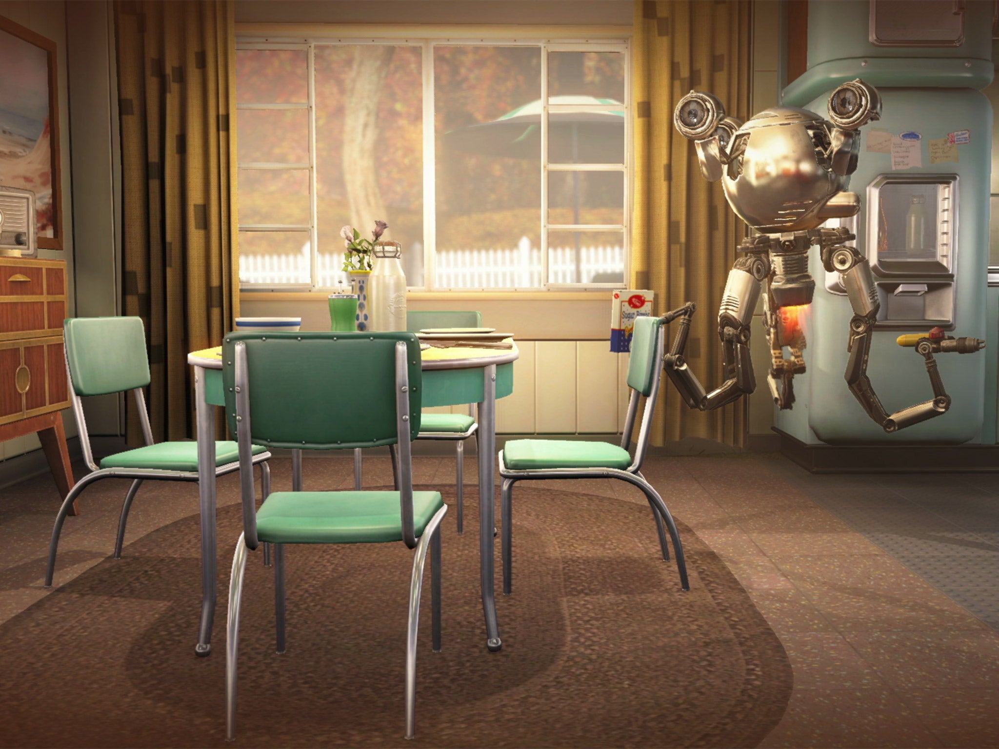 Fallout 4 is one of the most visually-striking computer