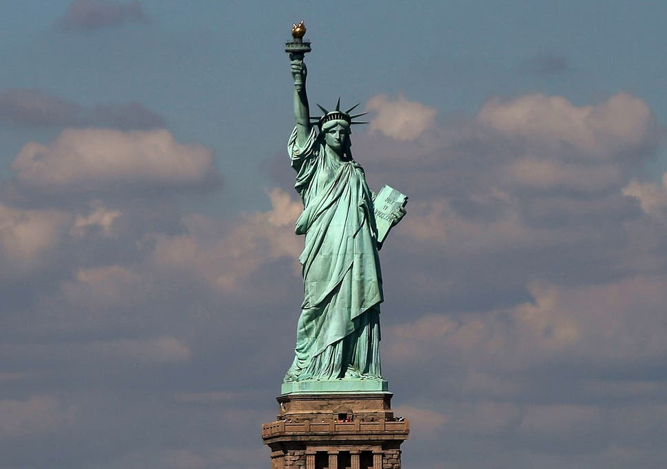 the statue of liberty was originally conceived to be muslim the