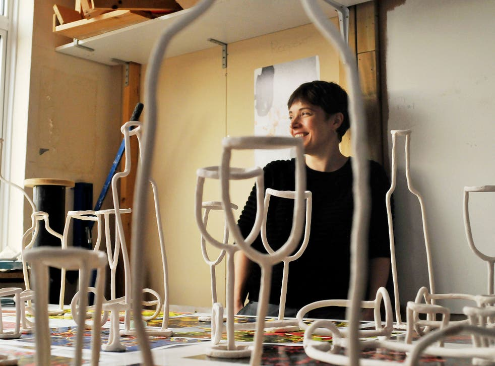 Clay day: Emma Hart in her studio in Peckham, south-east London