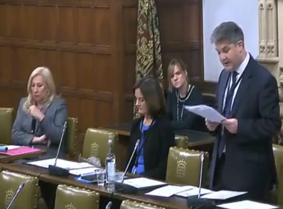 Philip Davies speaks in the debate
