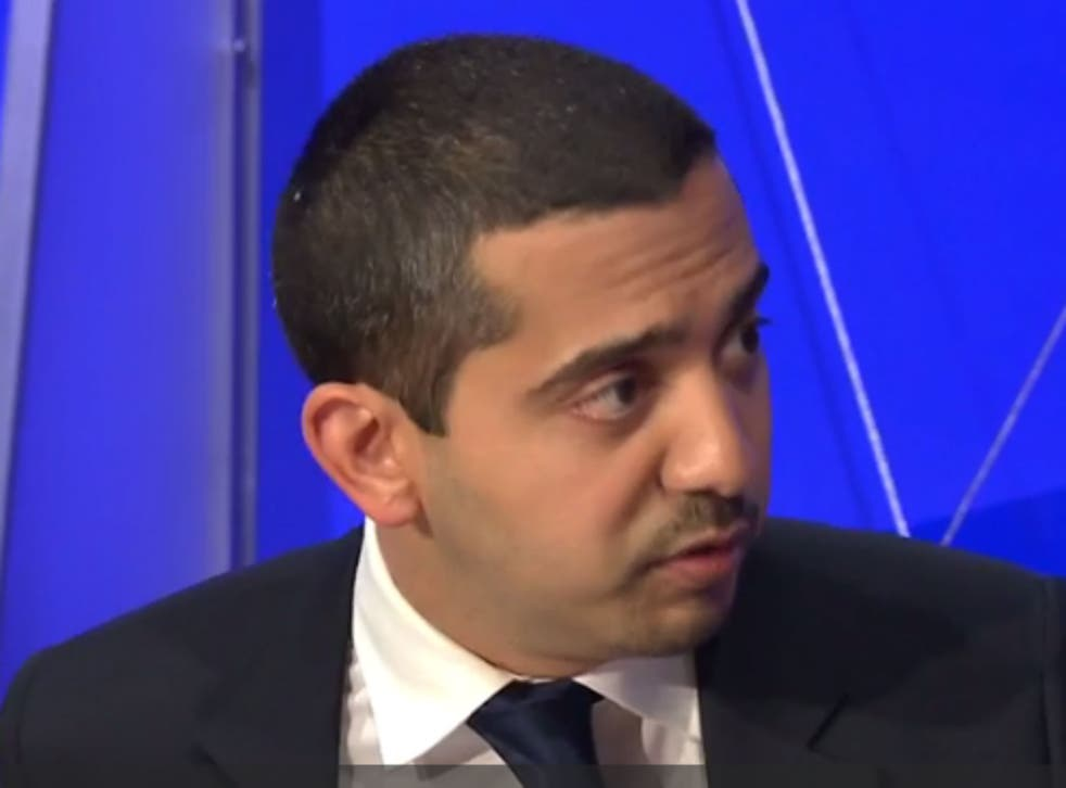 Medhi Hasan on Question Time