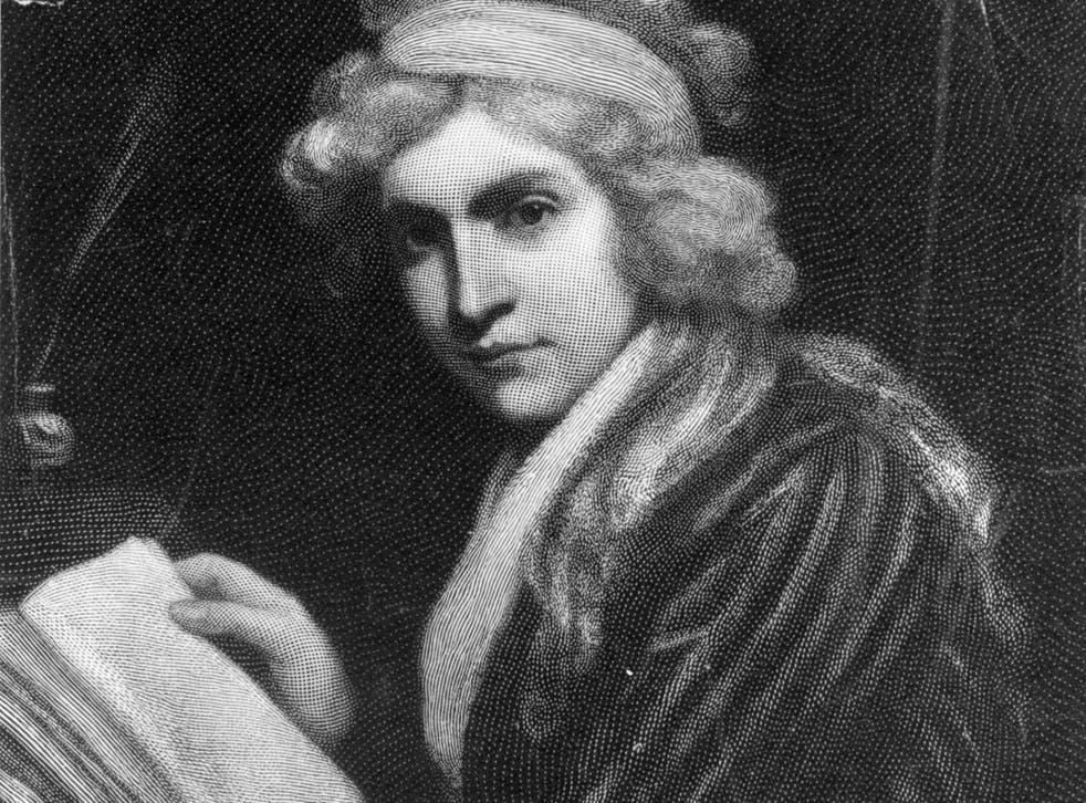 English feminist and writer Mary Wollstonecraft in 1898