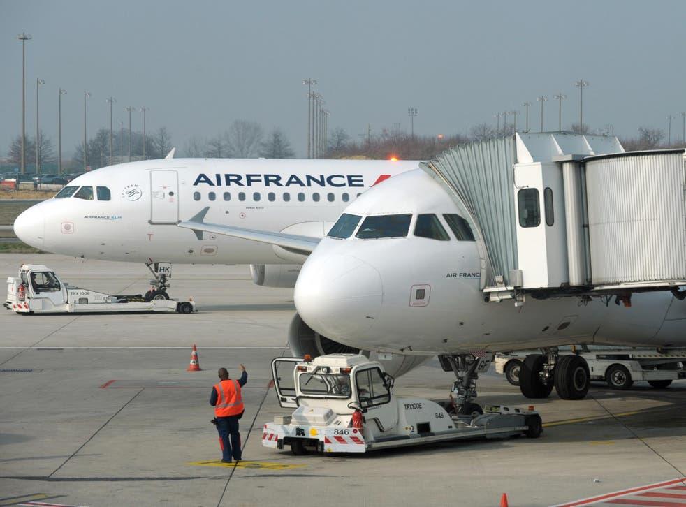 The Air France flight has returned to Paris
