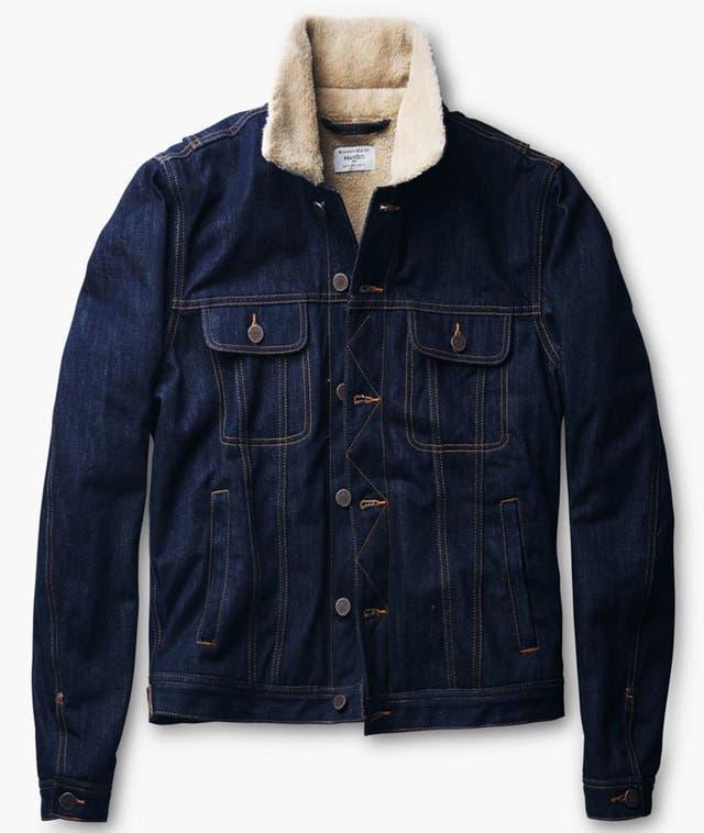Denim coat, £69.99, mango.com