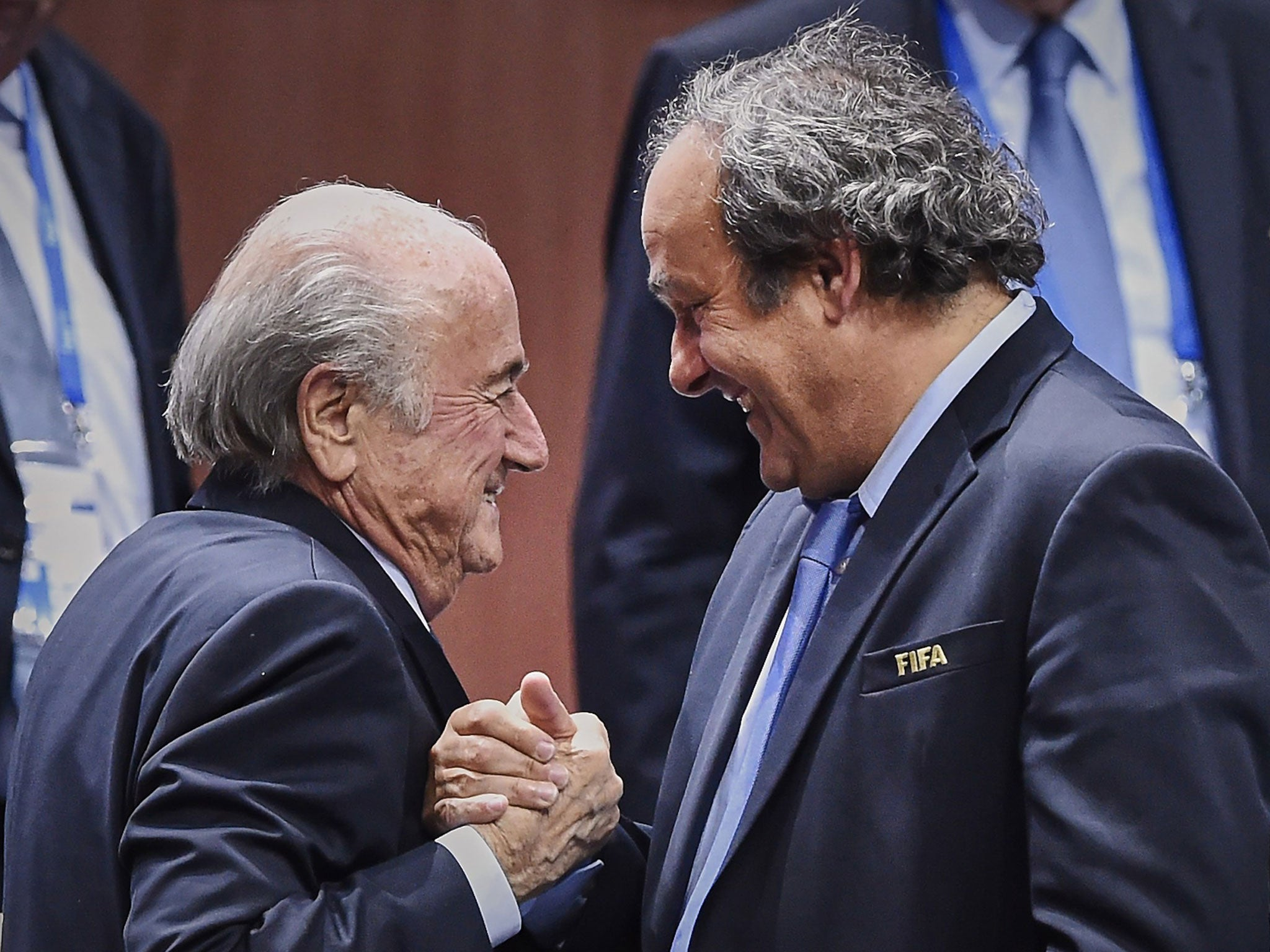 Sepp Blatter and Michel Platini have suspensions from football cut
