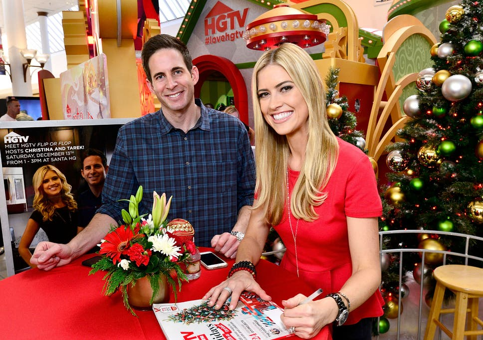 ee80fc1c6 Flip or Flop presenter Tarek El Moussa s life saved after viewer spotted  cancerous lump in his neck