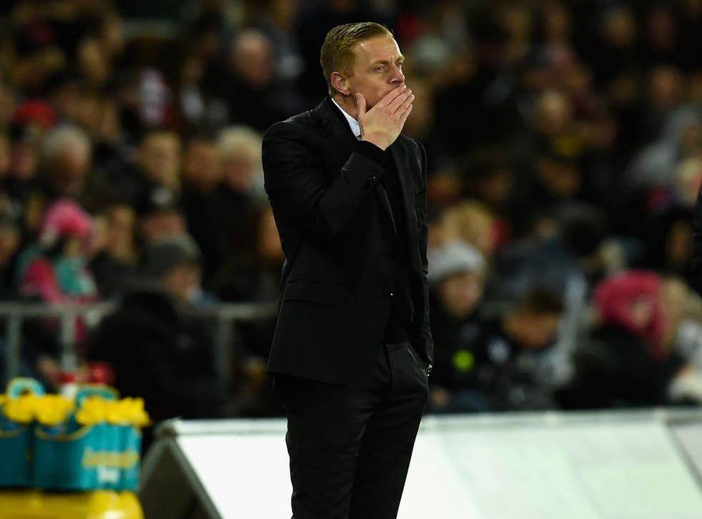 Garry monk faces an uncertain future as Swansea manager after a 2-2 draw with Bournemouth