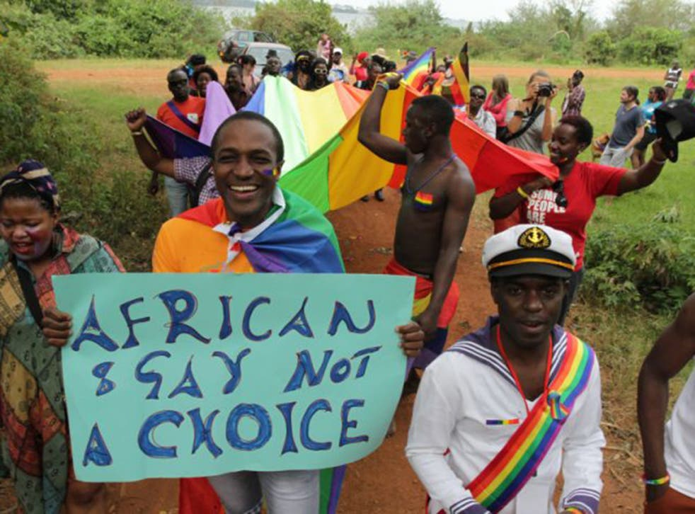 LGBT activists in Uganda, where homosexuals can face life imprisonment