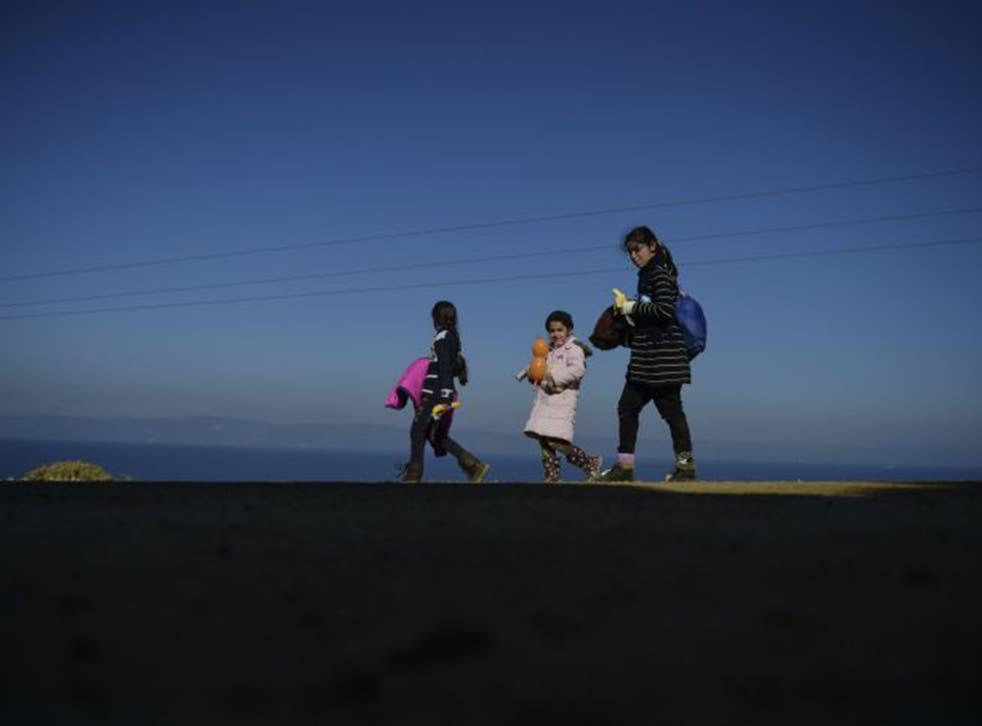 Millions of Syrian children have fled the brutal civil war