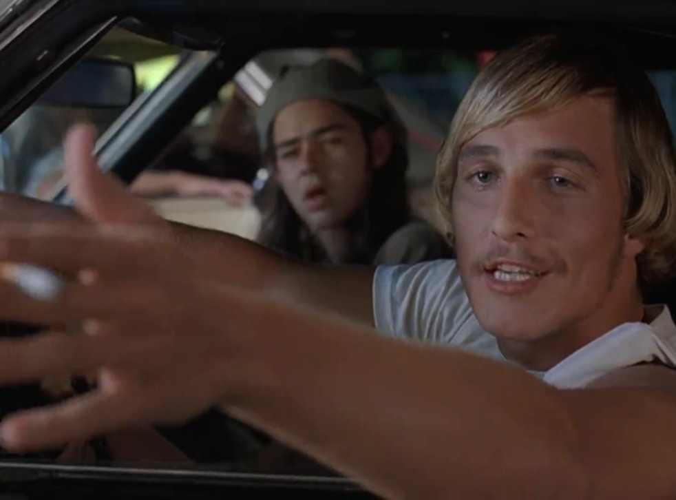 Matthew McConaugheyin Linklater's'Dazed and Confused'