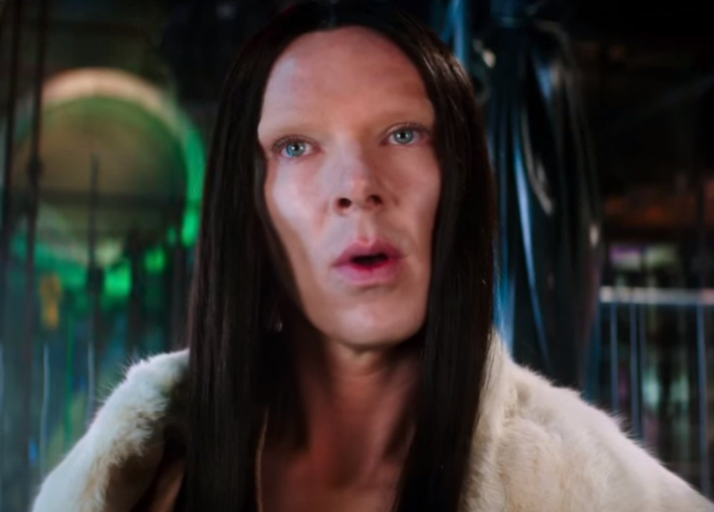 Zoolander 2 trailer benedict cumberbatchs cartoonish transgender character leads to calls for boycott