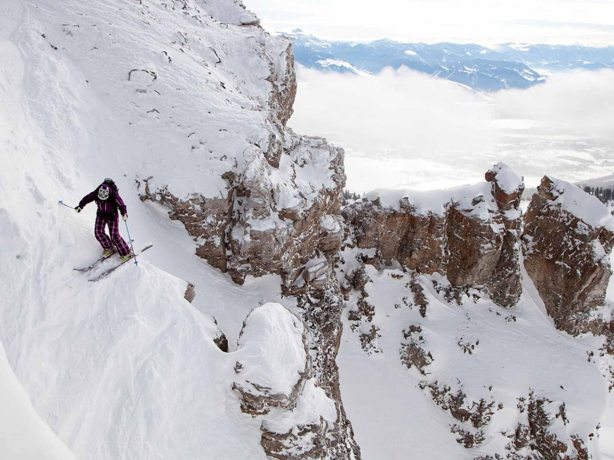jackson hole skiing: the wild wyoming resort was established 50