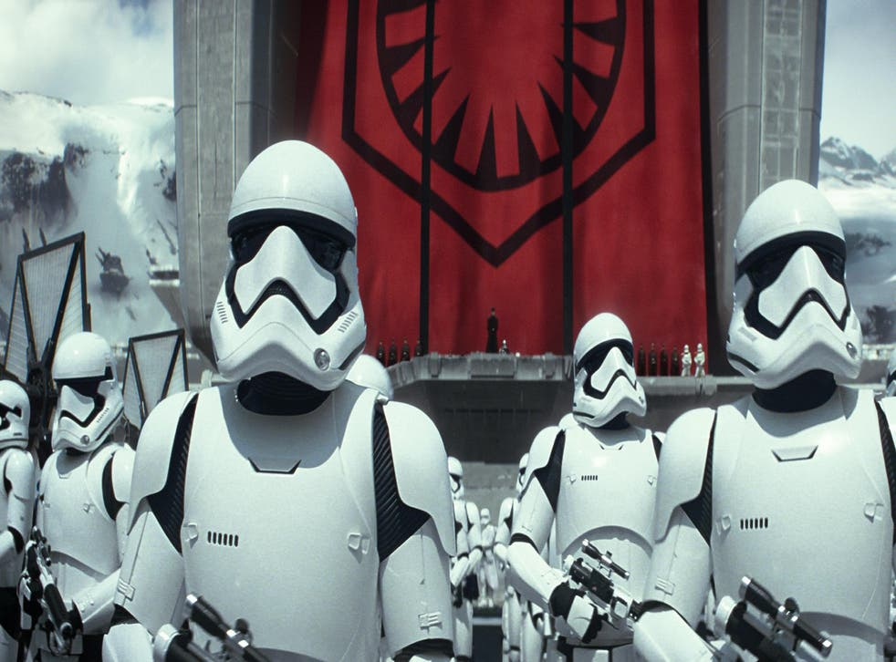 Stormtroopers in 'Star Wars: The Force Awakens'